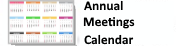 Annual Meeting Calendar